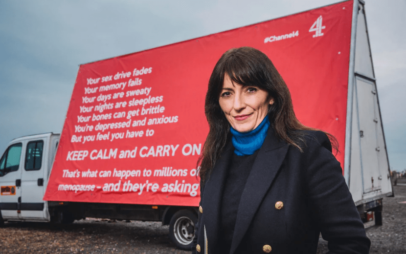 My take on Davina McCall, Sex Myths and the Menopause Documentary