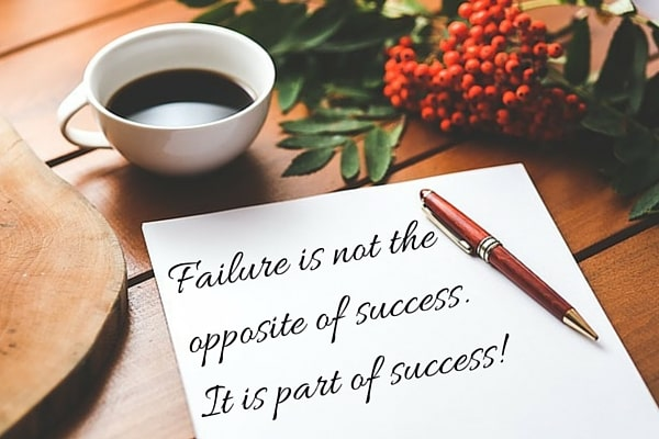 The Positive Side of Failure